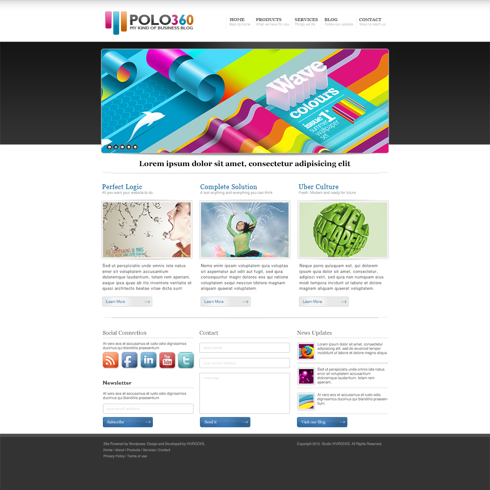 17 Best Free Psd Website Templates For Business Portfolio And Other Websites 2020 Colorlib