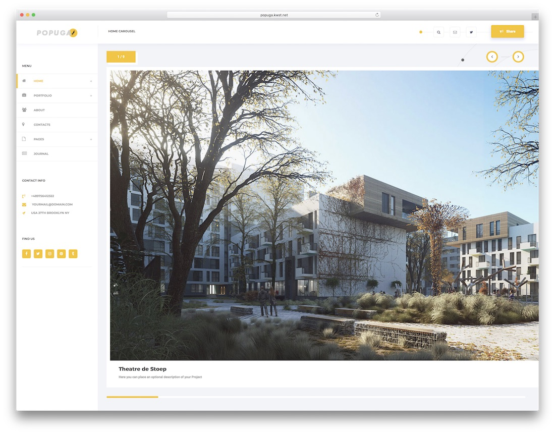 27 Best Responsive Interior Design Website Templates 2019