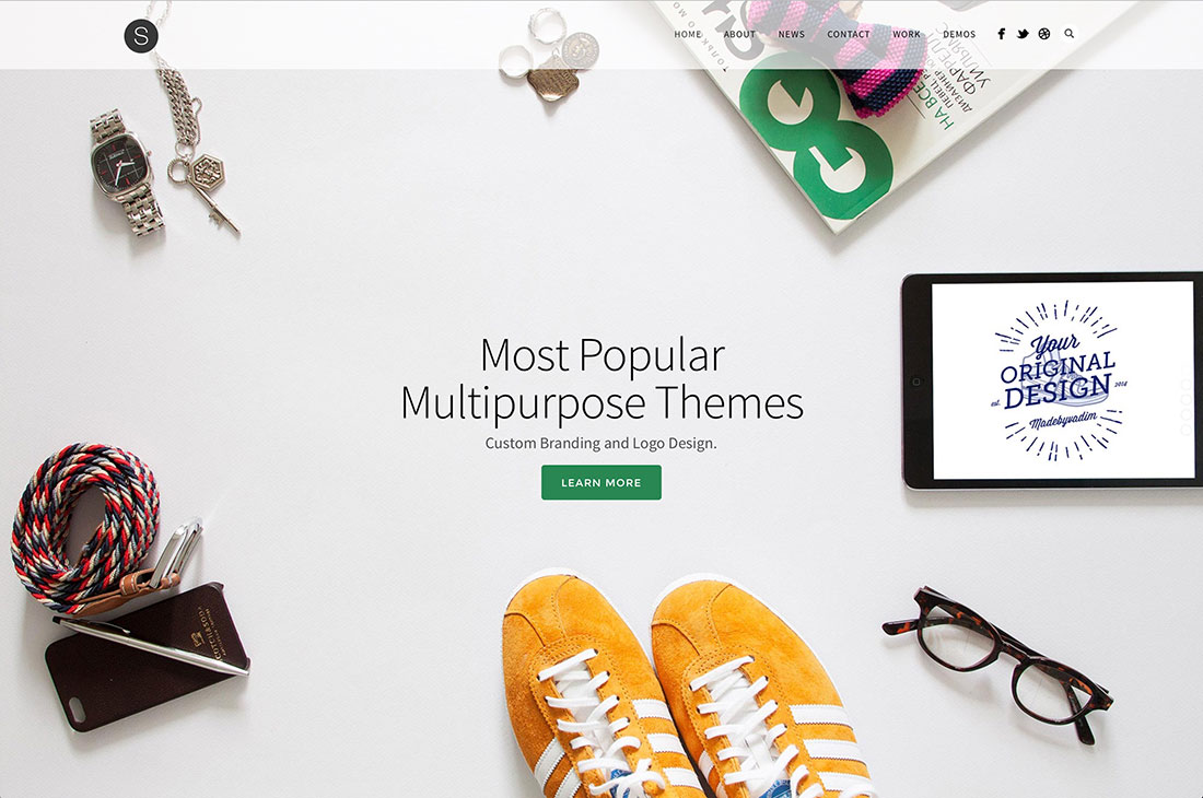16 Popular Multipurpose Wordpress Themes 2015