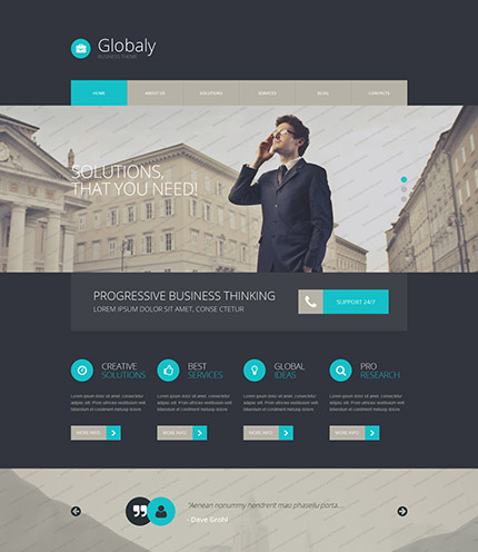 Your hands on experience 30 free and premium website templates businesology consulting services free wordpress template pronofoot35fo Gallery