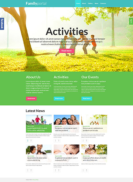 Family Board WordPress Theme