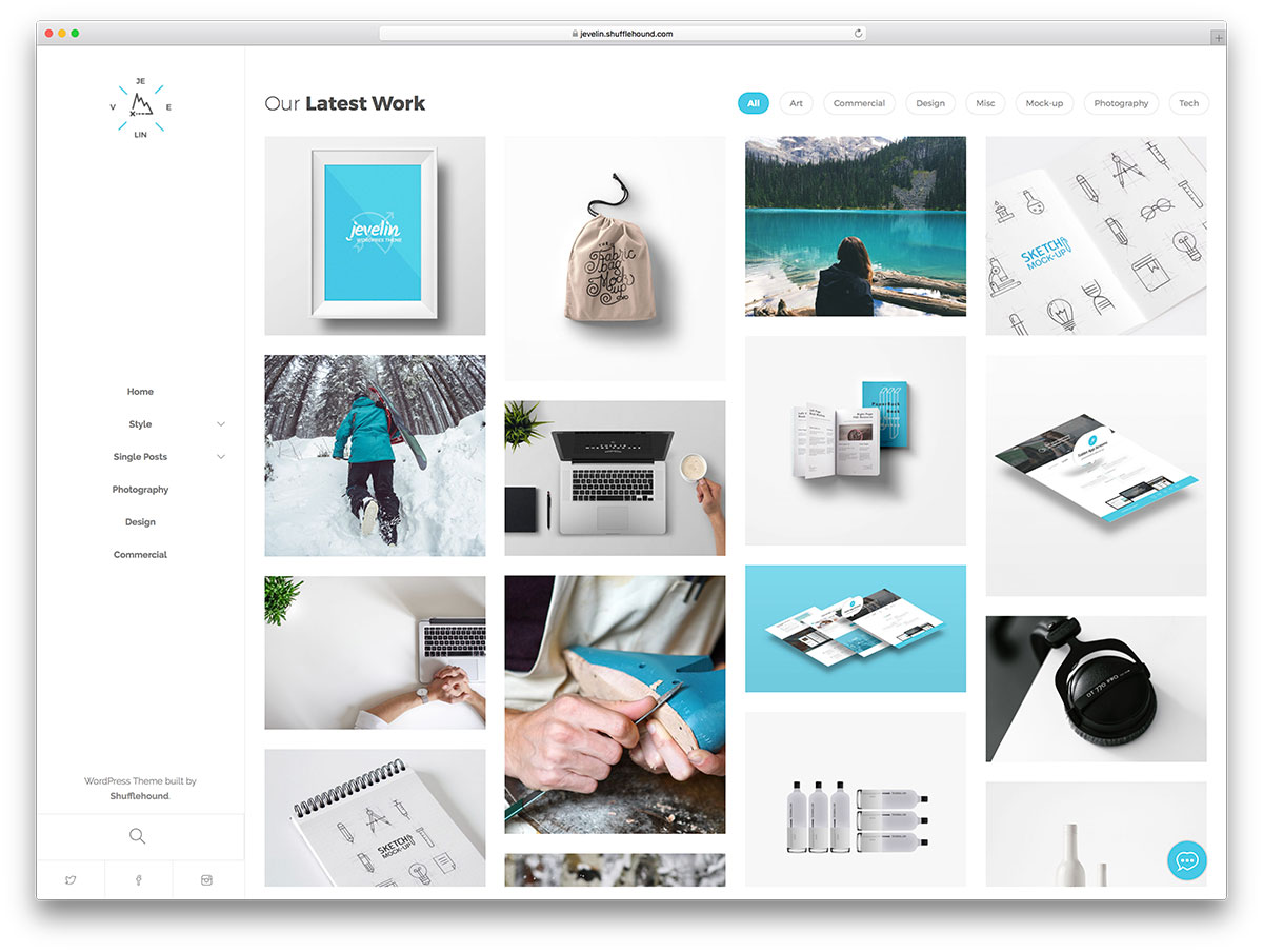 40+ Best Personal & Business Portfolio WordPress Themes To Showcase Your Work – 2017