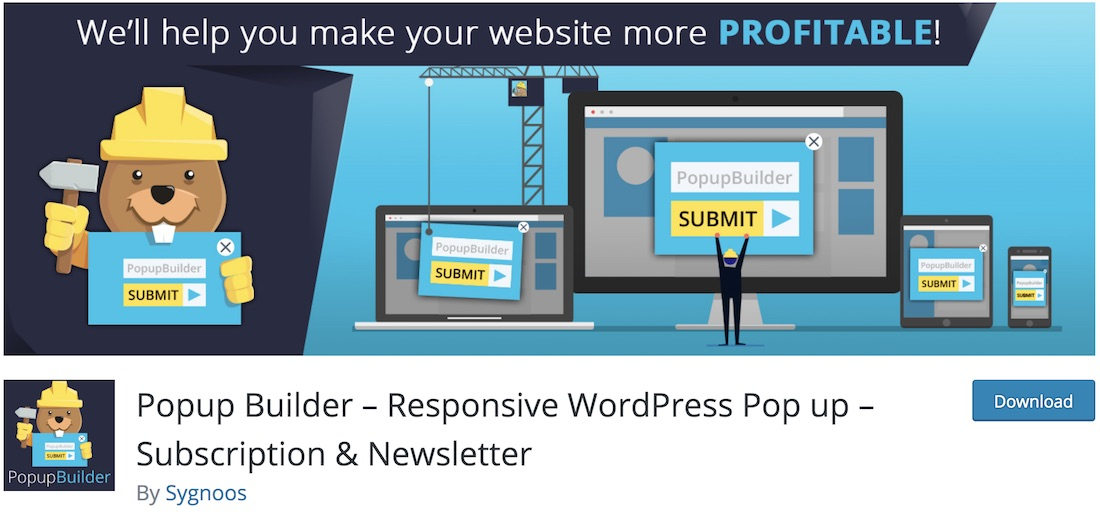 popup builder wordpress plugin