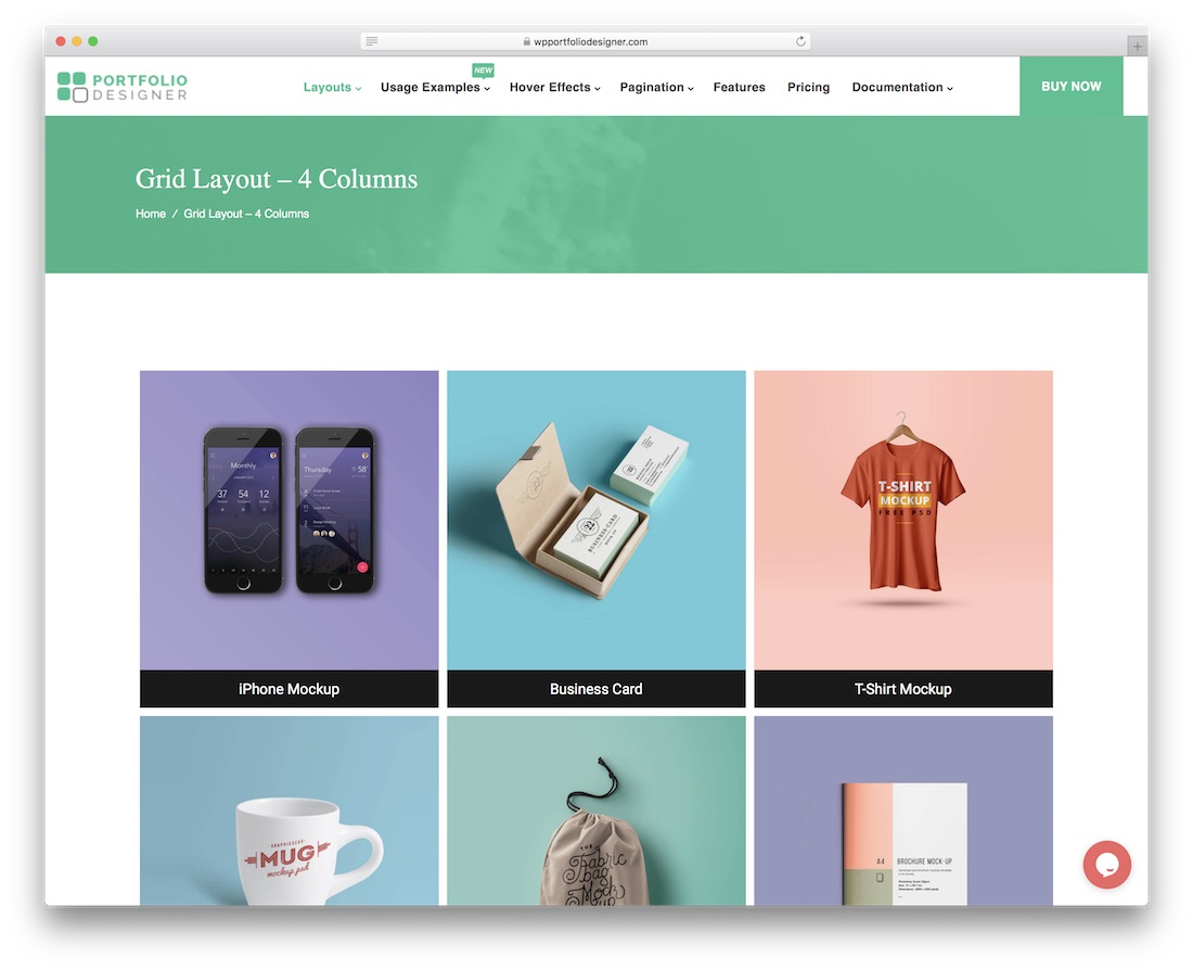 portfolio designer wordpress gallery plugin
