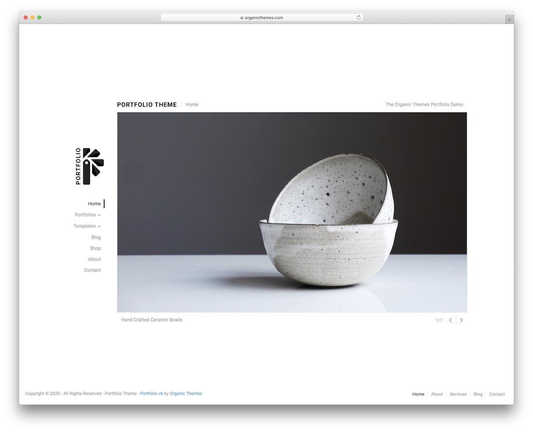 portfolio lite free wordpress theme