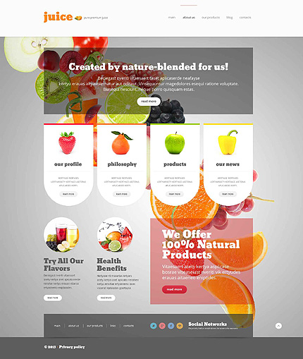 product review template wordpress - most spectacular themes of this spring 30 new portfolio