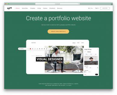 Portfolio Website Builders