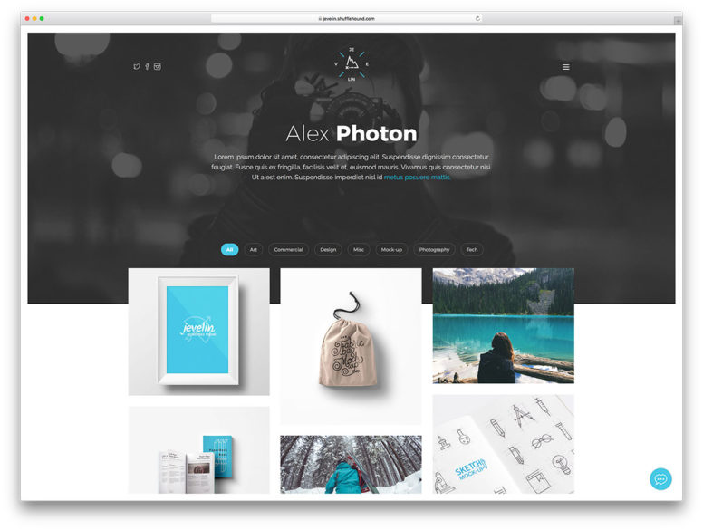 30+ Awesome WordPress Portfolio Themes To Showcase Your Work With Style 2017