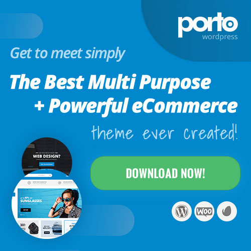 Porto - Popular Ecommerce Theme