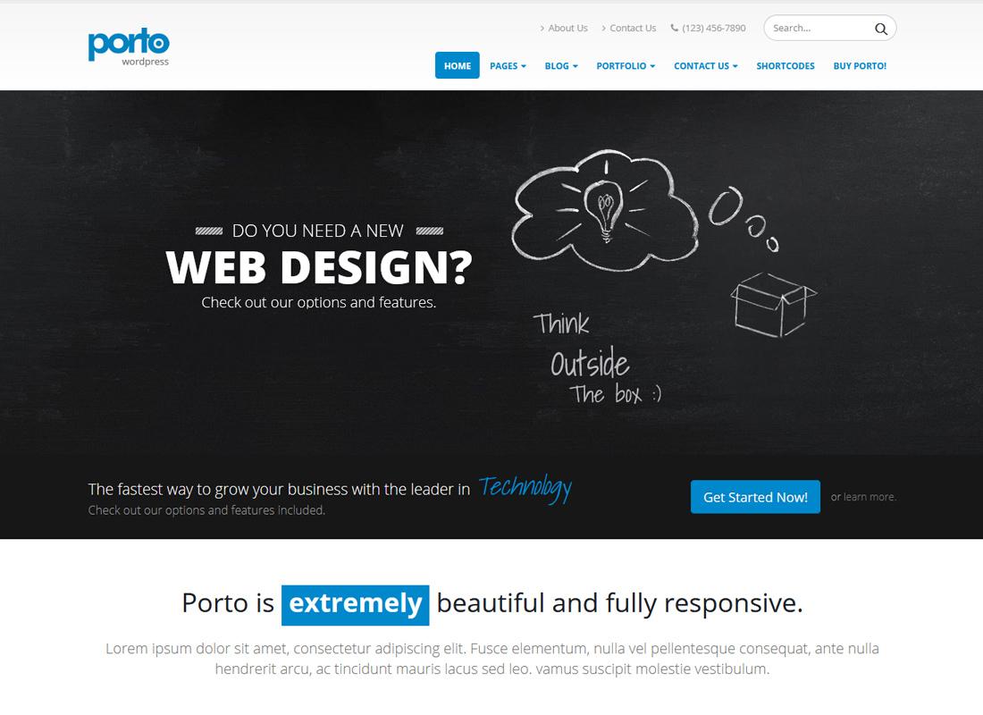 Porto | Multi-Purpose WordPress & Ultimate WooCommerce Theme