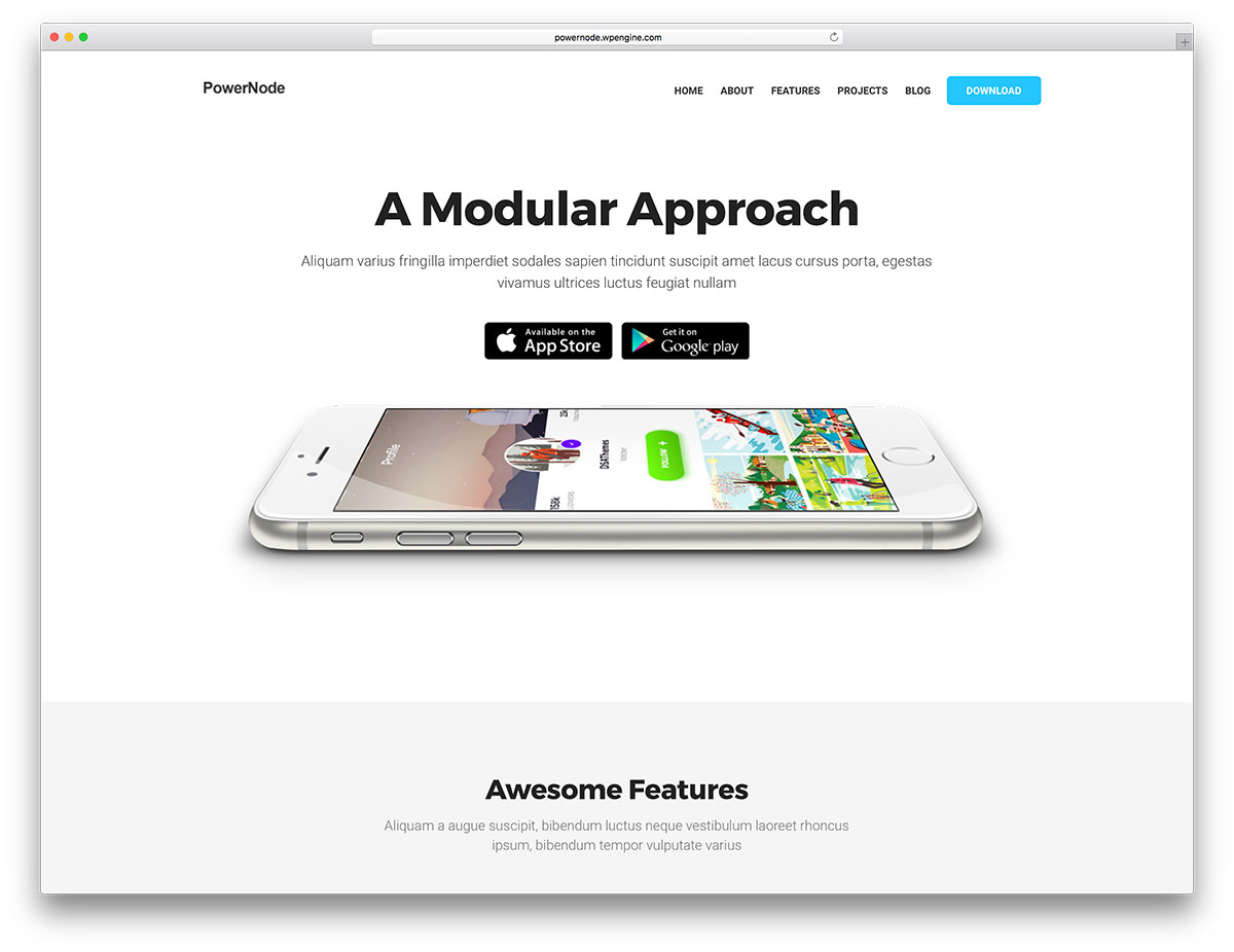 Google themes personalized homepage - Powernode Is A Clean And Responsive Wordpress Landing Page Multipurpose Website Theme Powernode Lets You Put Together Gorgeous Websites Without Writing Any