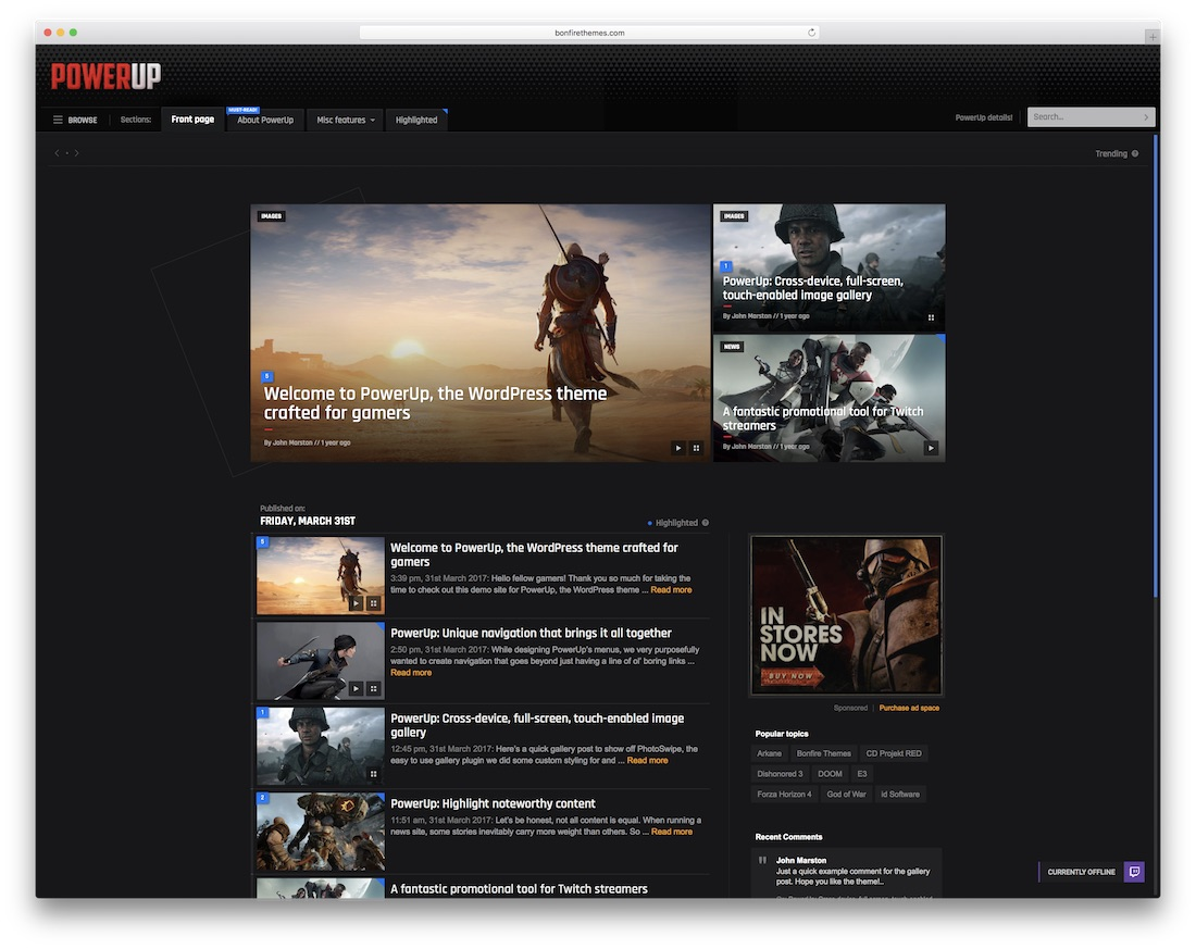 24 Best Gaming Website Templates (HTML & WordPress) 2019 - Colorlib
