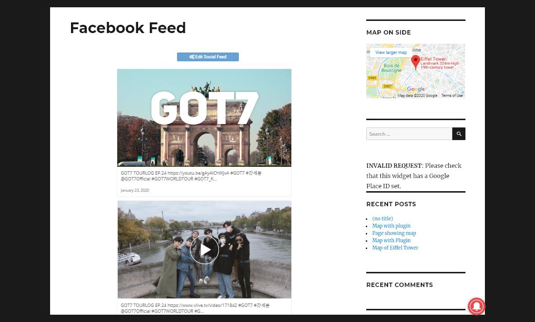 Responsive WordPress Facebook Feed Plugins