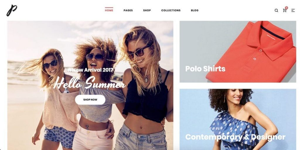 b3eb91e910e Precise is a gorgeous example of a fashion ecommerce WordPress theme. It  comes with 10 beautifully designed demos