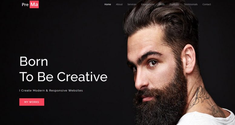 20 Best Personal Website Templates That Always Keeps You One Step Ahead
