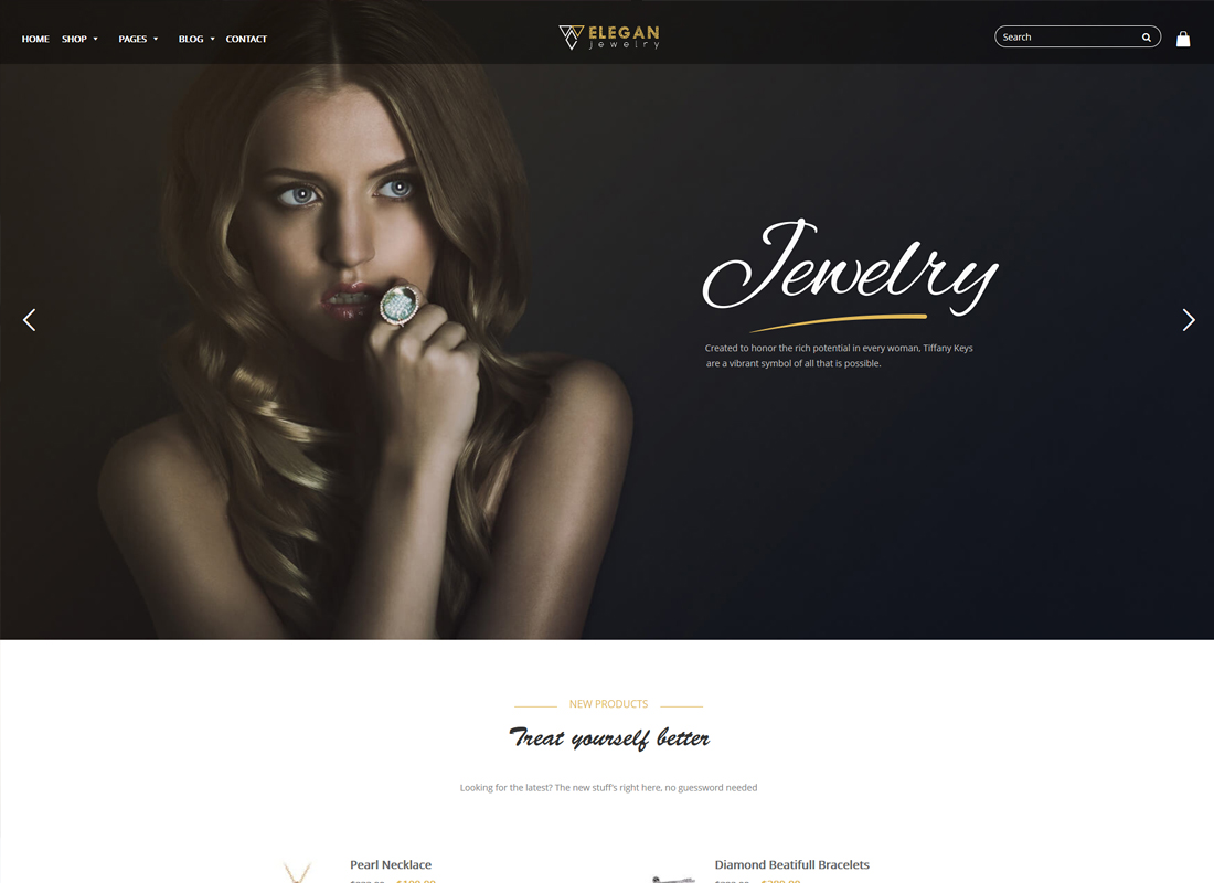 Elegance | Jewelry Responsive Woocommerce WordPress Theme