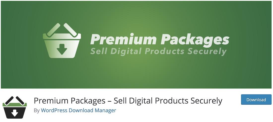 premium packages wordpress plugin