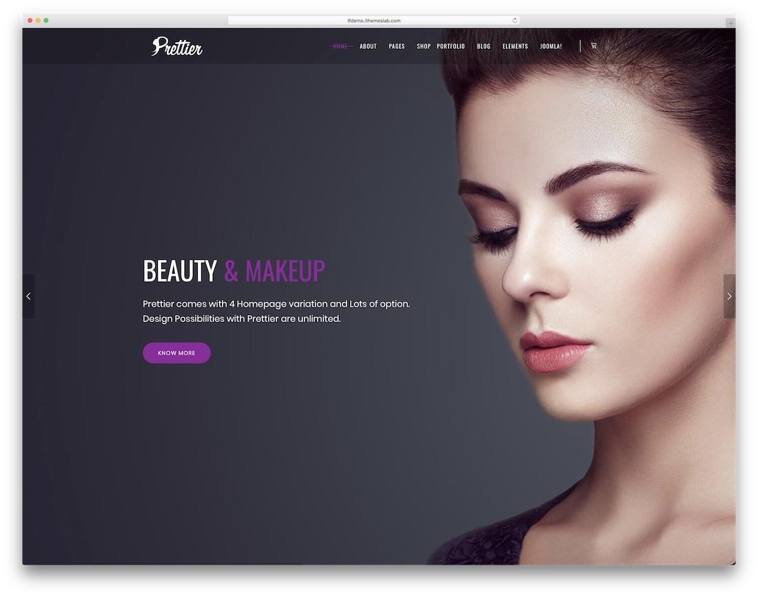 prettier joomla business template