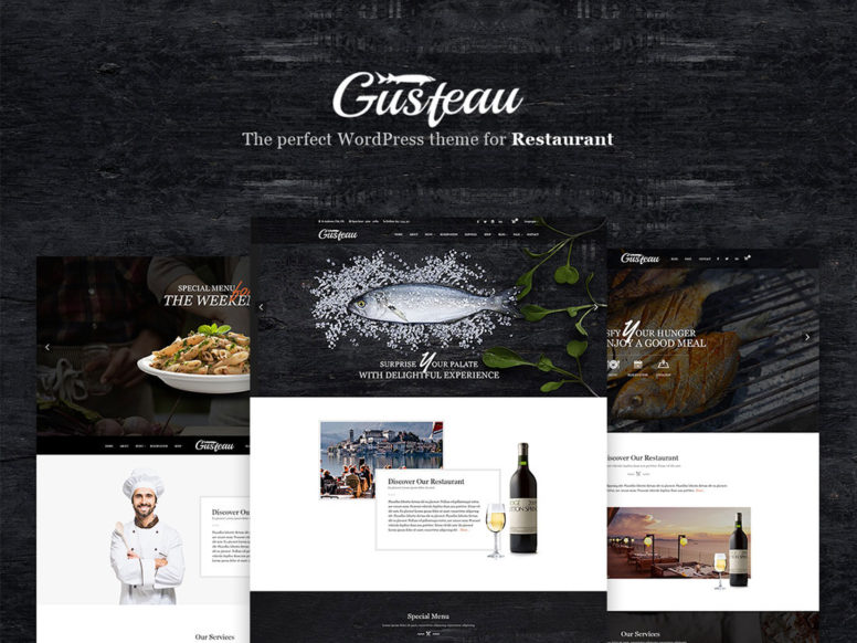 Gusteau – A Must-Have Food And Restaurant WordPress Theme
