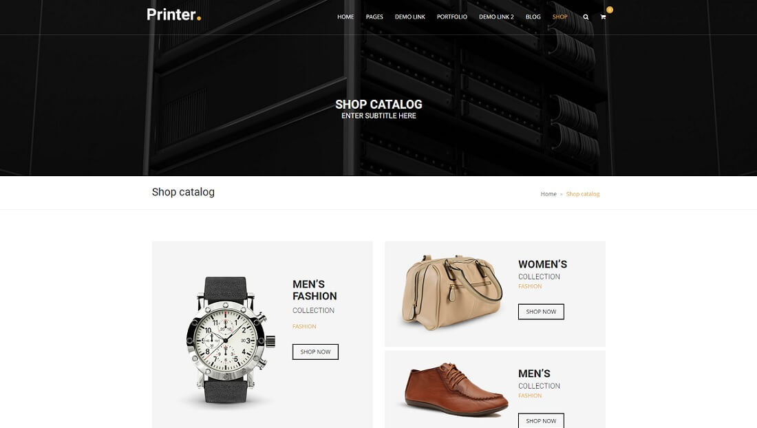 printer drupal commerce template