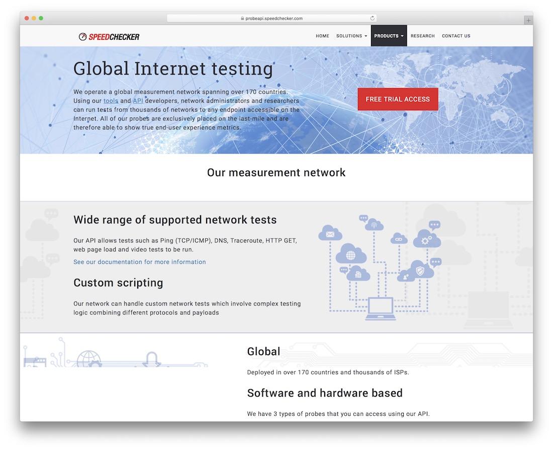 probeapi global internet testing