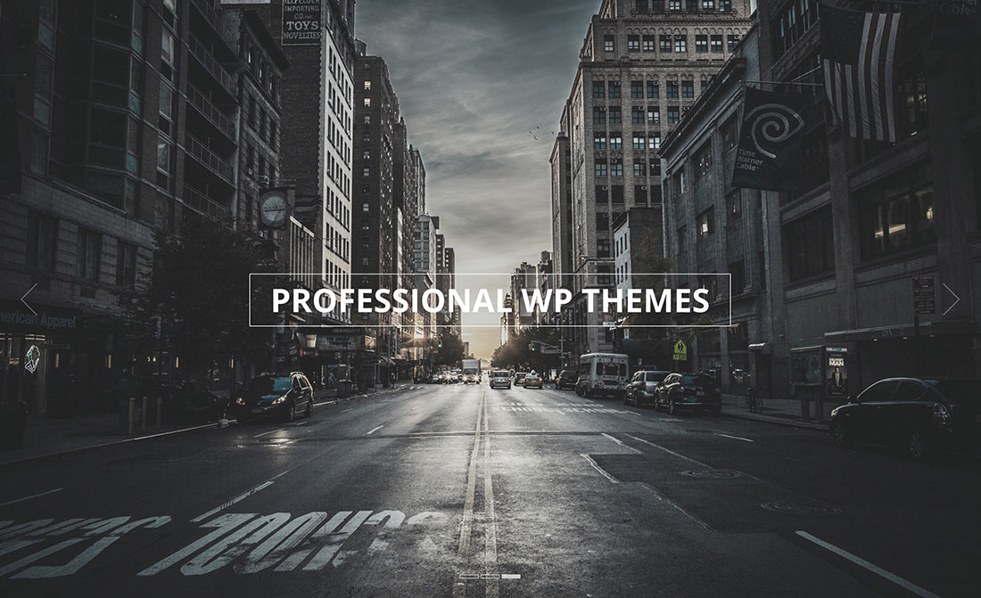 30 Professional WordPress Multi-Purpose Themes For Corporate Websites 2017