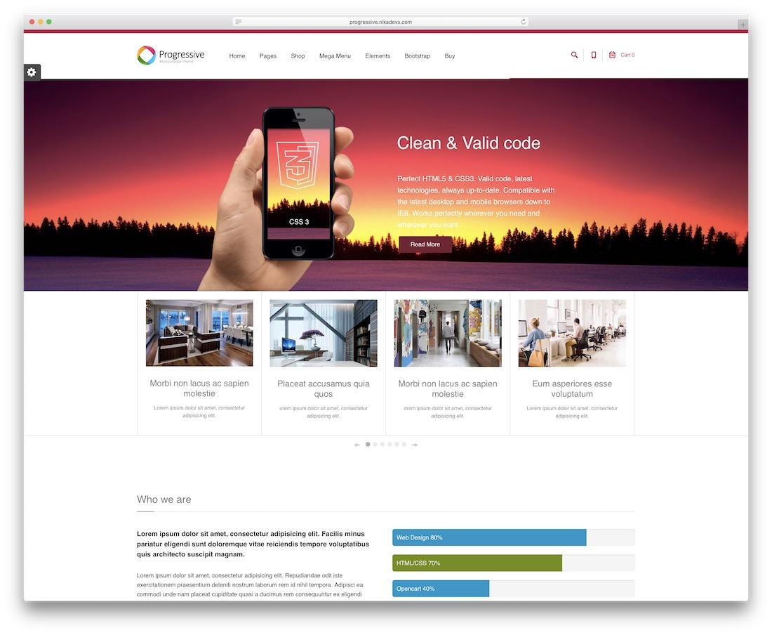 33 Best Professional Drupal Business Templates 2019 - Colorlib