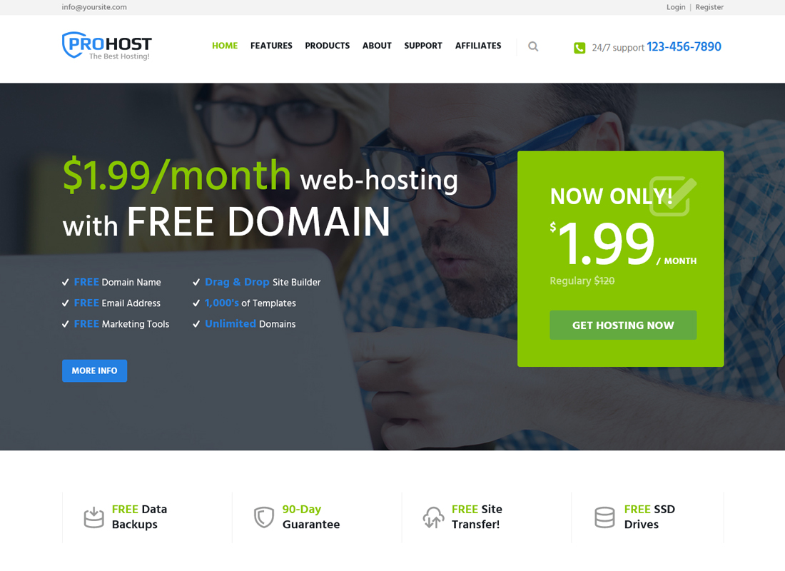 prohost-hosting-technology-wordpress-theme