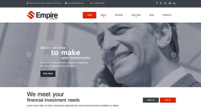 50+ Most Outstanding Business WordPress Themes For Startups, Medium & Large Companies 2015