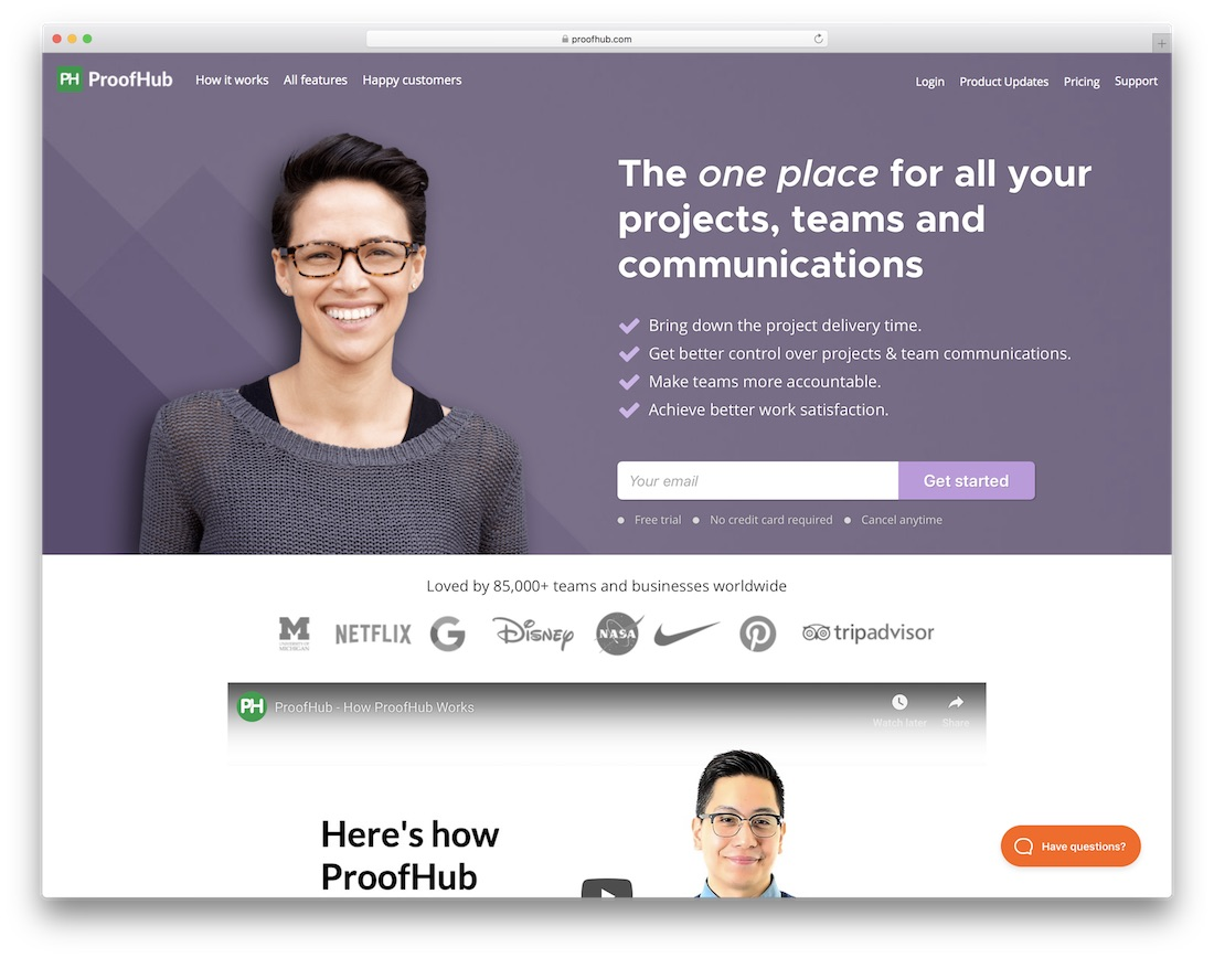 proofhub productivity tool for your team