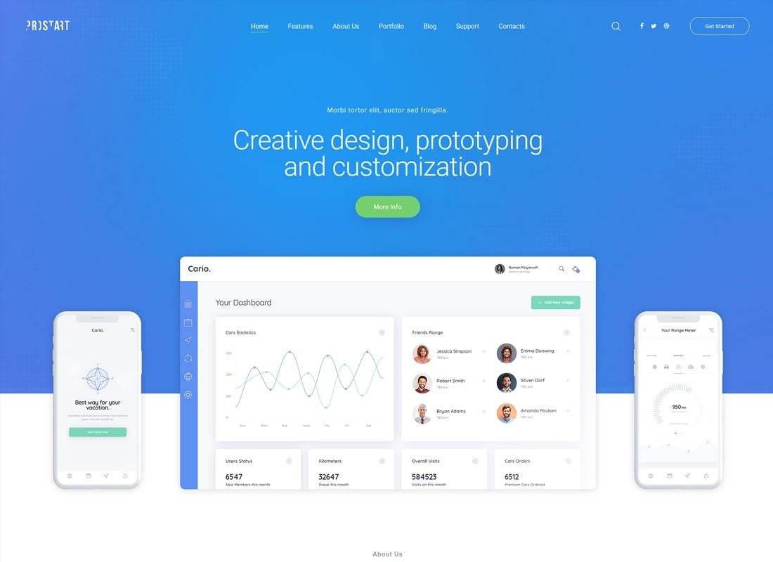 ProStart | Startup & Corporate WordPress Theme
