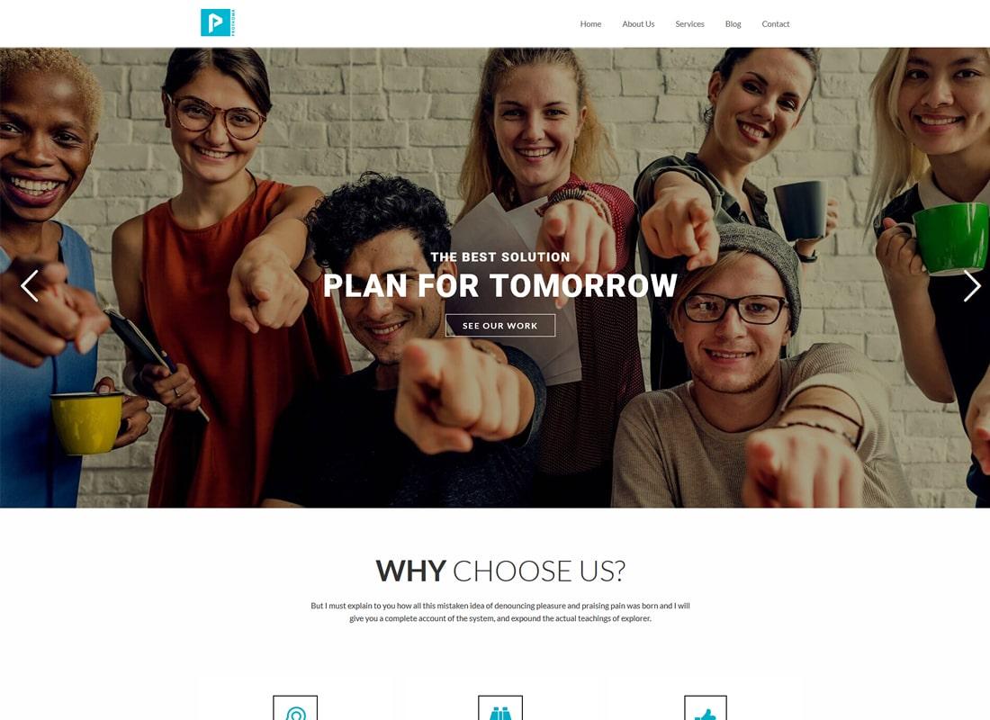Prothoma | Startup Business WordPress Theme
