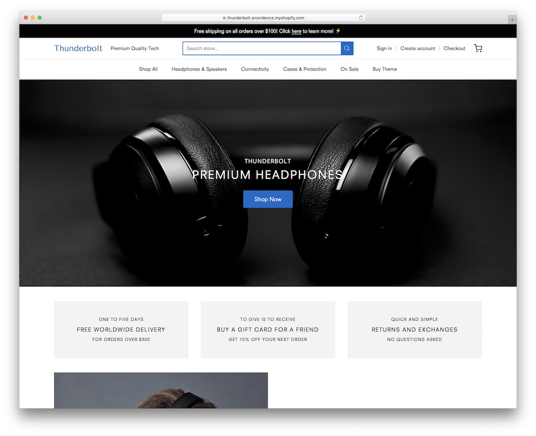 providence simple shopify theme