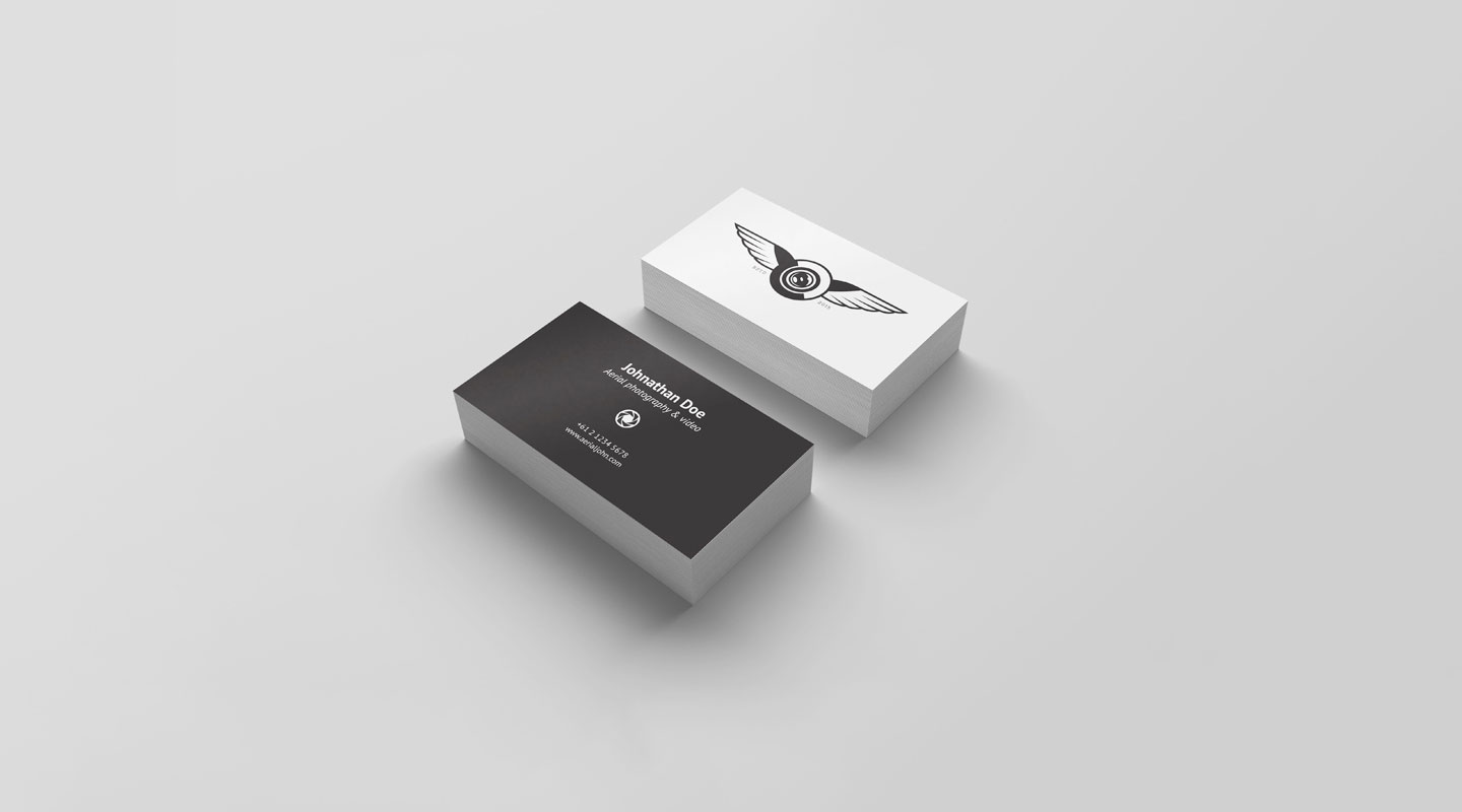 Top Free Business Card PSD Mockup Templates In Colorlib - Free invoice template with logo chanel online store