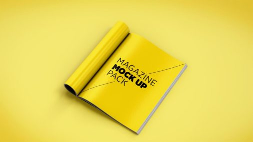 Psd Magazine Mockup Templates