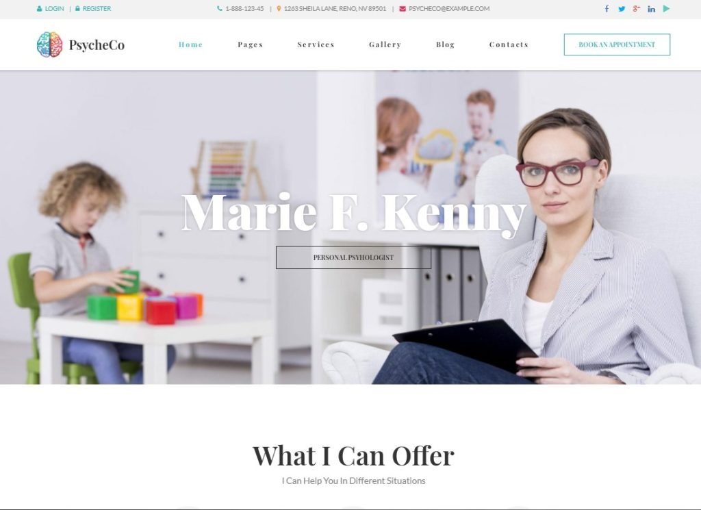 PsycheCo | Therapy & Counseling WordPress Theme