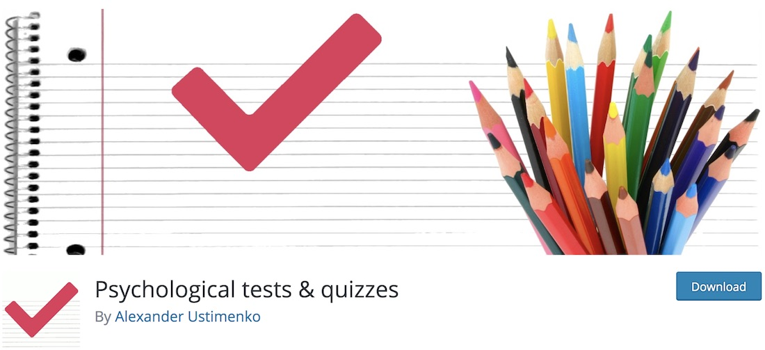 psychological tests and quizzes wordpress plugin