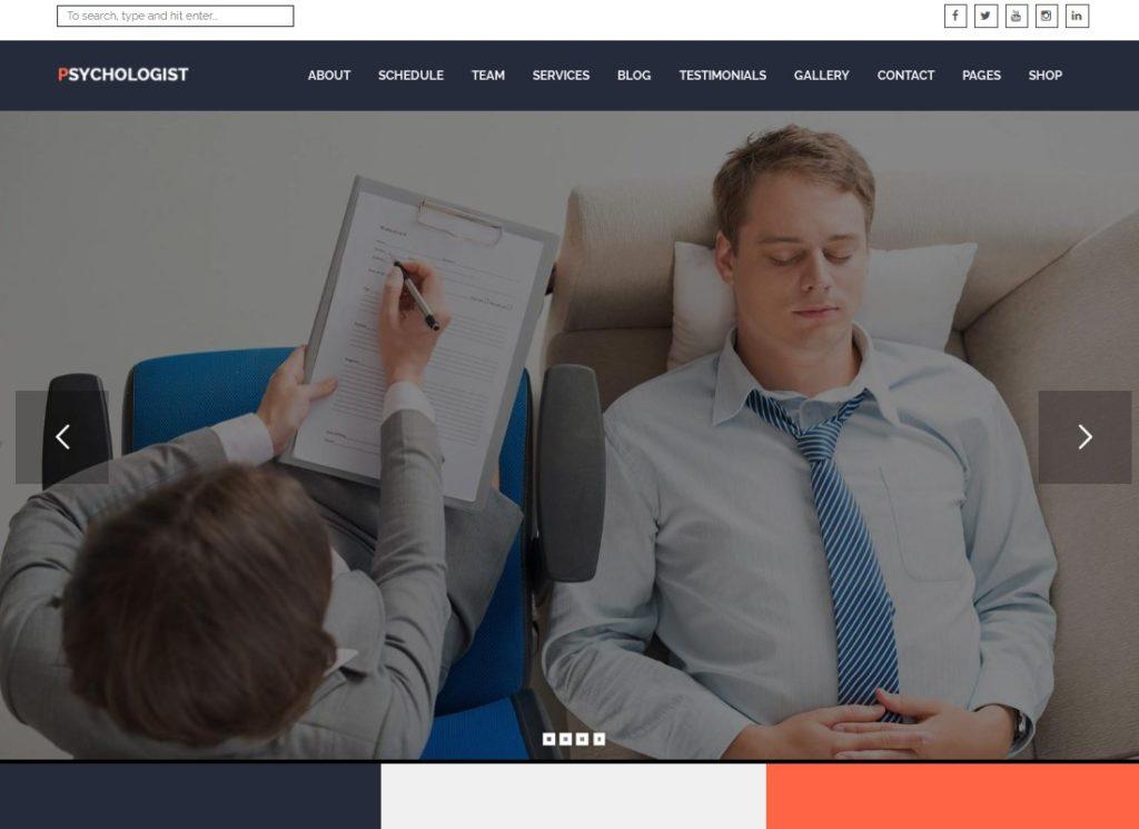 Psychologist | Psychological Practice WordPress Theme