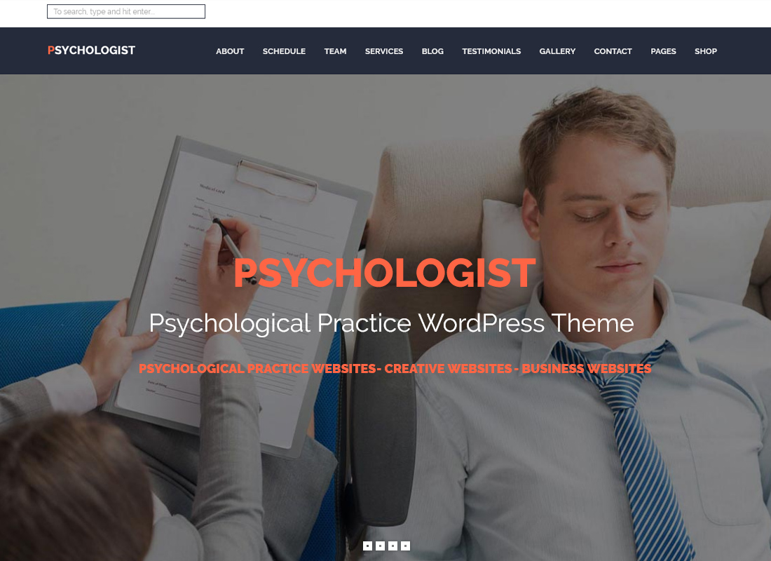 Psychologist | Psychological Practice WordPress Theme