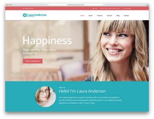 Psychologist Wordpress Themes