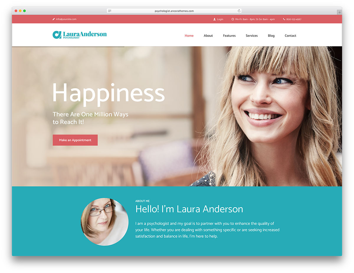 Top 10 Psychological WordPress Themes 2018