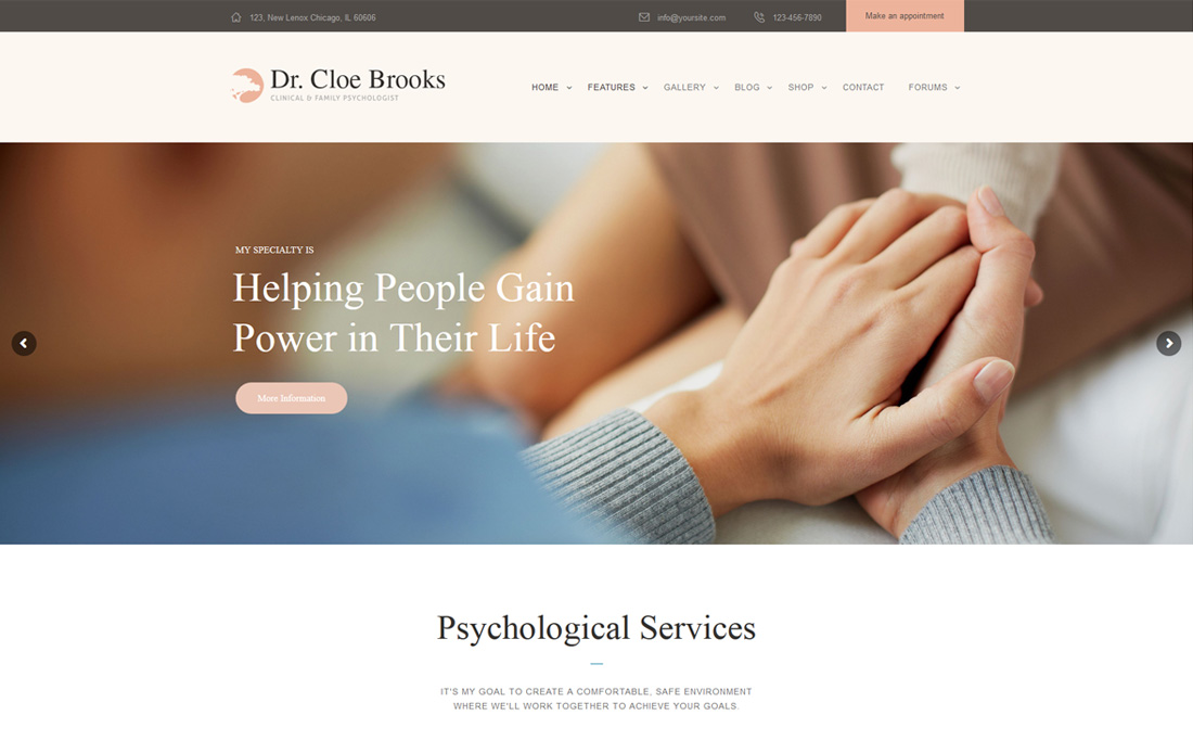 psychology-bootstrap-forum-templates