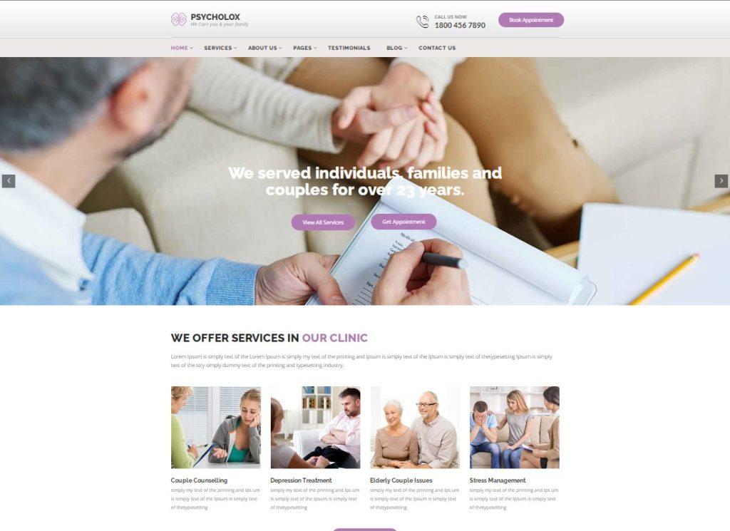 Psychology Care | Psychology & Counseling WordPress Theme