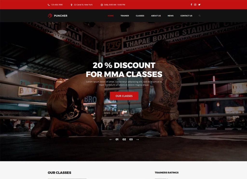 Puncher   Responsive Multipurpose WordPress Theme