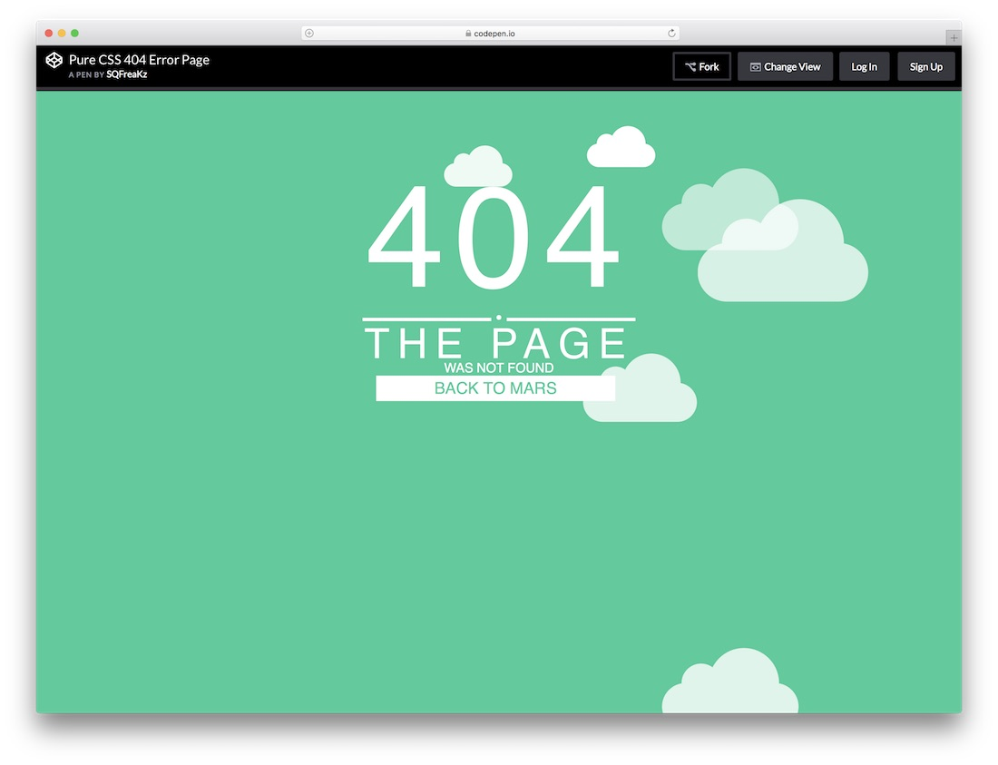 19 Best Easy To Use Free 404 Error Page Templates 2018 - Colorlib