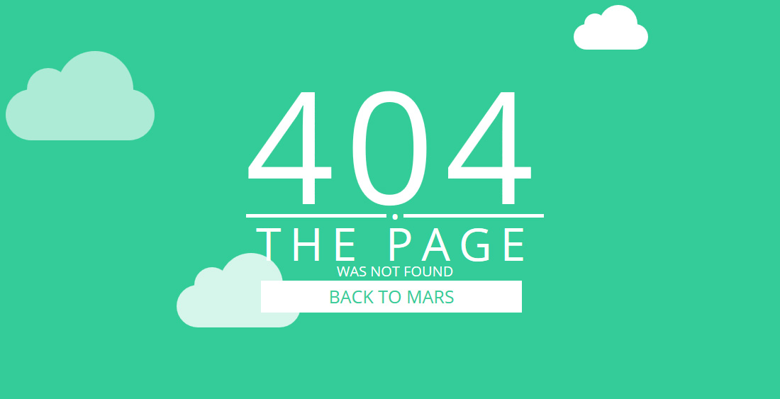 19 Best Easy To Use Free 404 Error Page Templates 2018