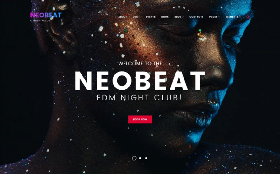 Neobeat - Night Club & Entertainment WordPress Theme