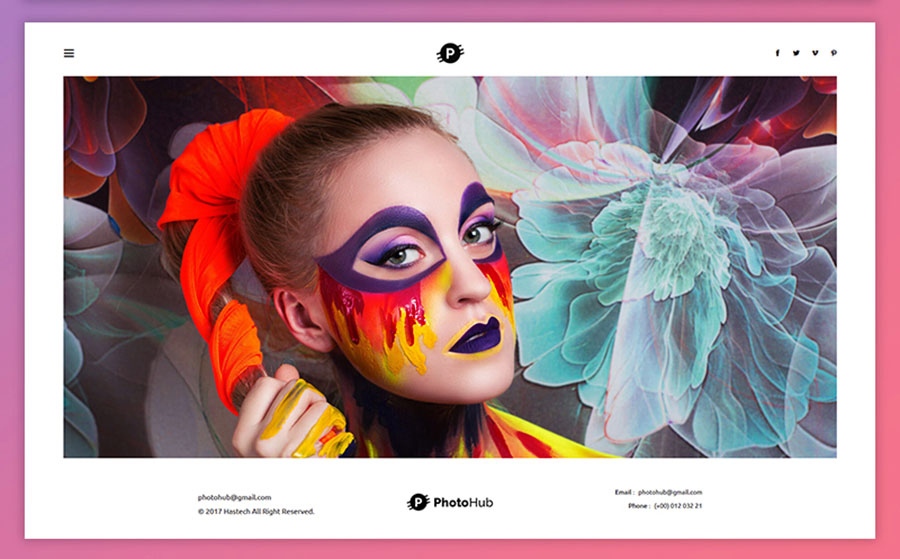 Photohub - Creative Photography Website Template