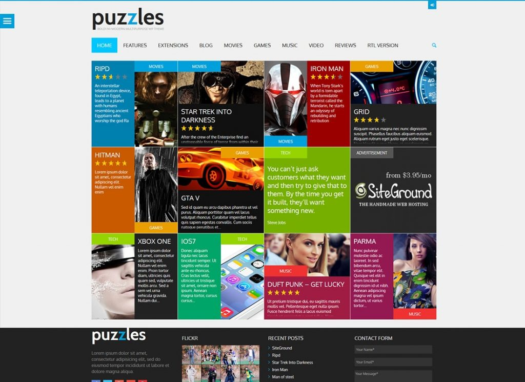 , 10 Best eSports WordPress Themes for Your Gaming Website, Rojak WP
