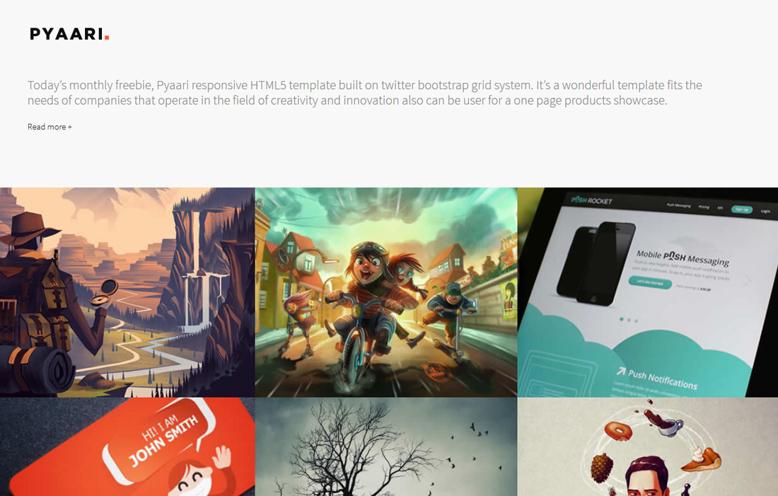 20 Free Bootstrap Gallery Templates To Mesmerise Visitors ...